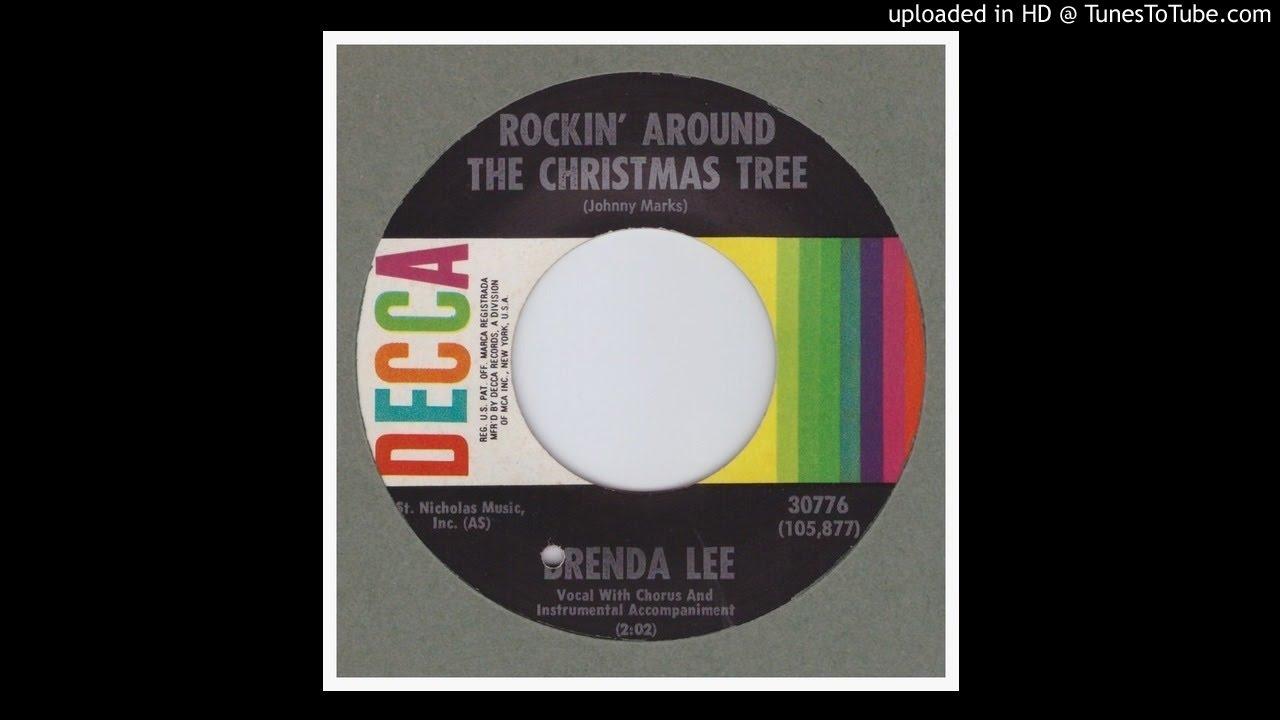 Lee, Brenda - Rockin' Around The Christmas Tree - 1958 - YouTube