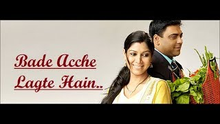 Bade Acche Lagte Hain (Title Song) Shreya Ghoshal - Lyrics - Hindi Song