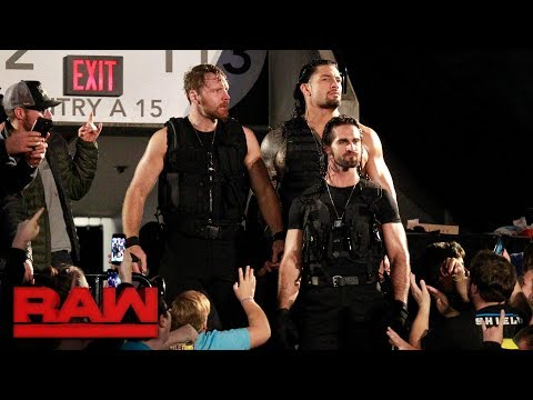 The Shield make their entrance together for the first time in three years: Raw, Oct. 16, 2017
