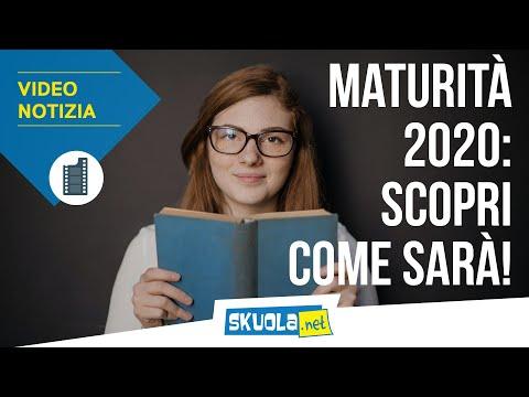 Maturità 2020: scopri come sarà!