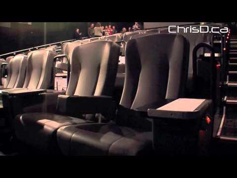Cineplex's New VIP Cinema - October 30, 2012 - Winnipeg, Manitoba