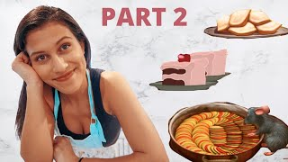 RECREATING FOOD FROM DISNEY MOVIES FOR A WEEK  Part 2: Ratatouille, Stitch Cake, Tiana&#39s Beignets