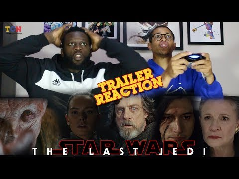 Thumbnail: Star Wars The Last Jedi Trailer REACTION!!