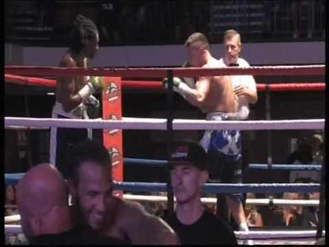 British Super Middleweight Challenge Belt Title John'Boy' McCallum V Dalton Miller