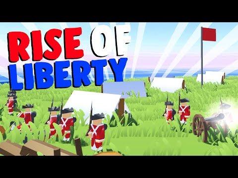 REVOLUTIONARY WARFARE! - Rise of Liberty Gameplay - Game like Ravenfield