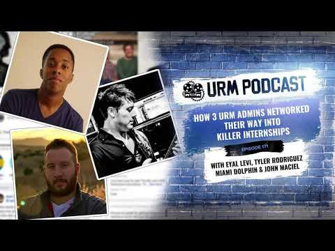 URM Podcast EP171 | How 3 URM moderators networked their way into killer internships