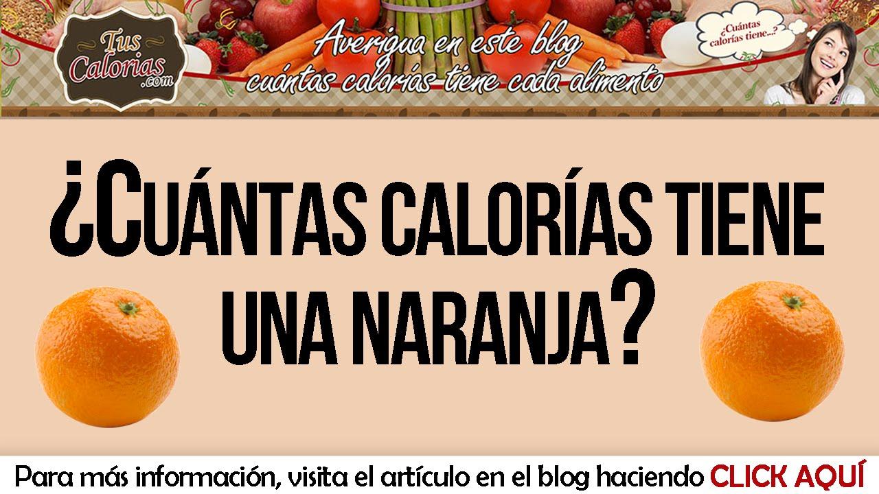 cuantas calorias tiene el melon naranja