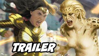 Wonder Woman 1984 Trailer 2020   New Wonder Woman Cheetah Scene Breakdown And Easter Eggs