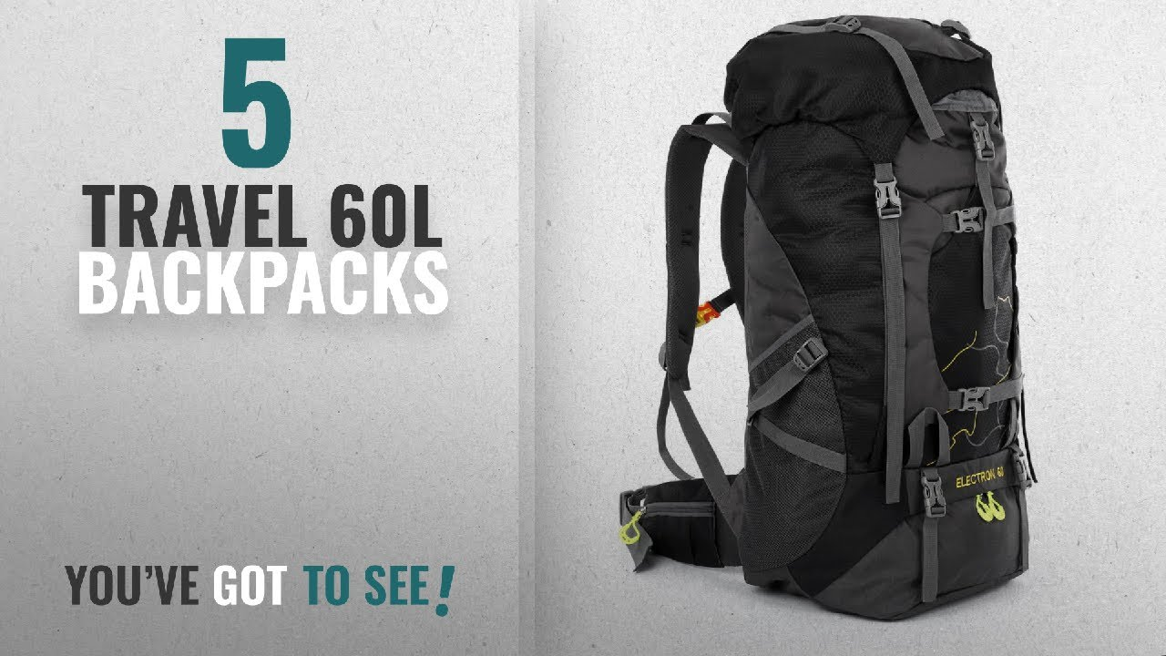 Travel 60L Backpacks [2018 Best Sellers]: OUTLIFE Hiking Backpack ...