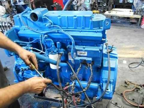 motor international dt 530 electr nico youtube rh youtube com School Bus International DTA360 International DT360 vs 12 Valve Cummins