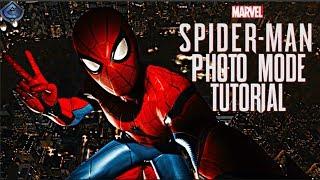 Spider-Man PS4 - Photo Mode Advanced Tutorial!