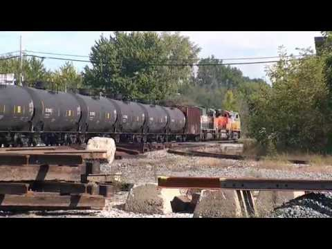 Oil Trains - Trackside Travels HD 1080p