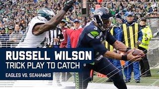 Doug Baldwin's TD Pass to Russell Wilson   🚨Trick Play Alert🚨  Eagles vs. Seahawks   NFL