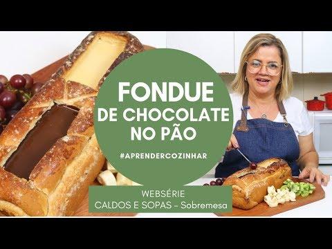 Fondue de Chocolate no Pão