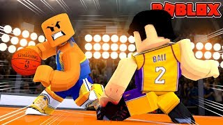 WARRIORS VS LAKERS | Roblox NBA Basketball! (Hoops Basketball)