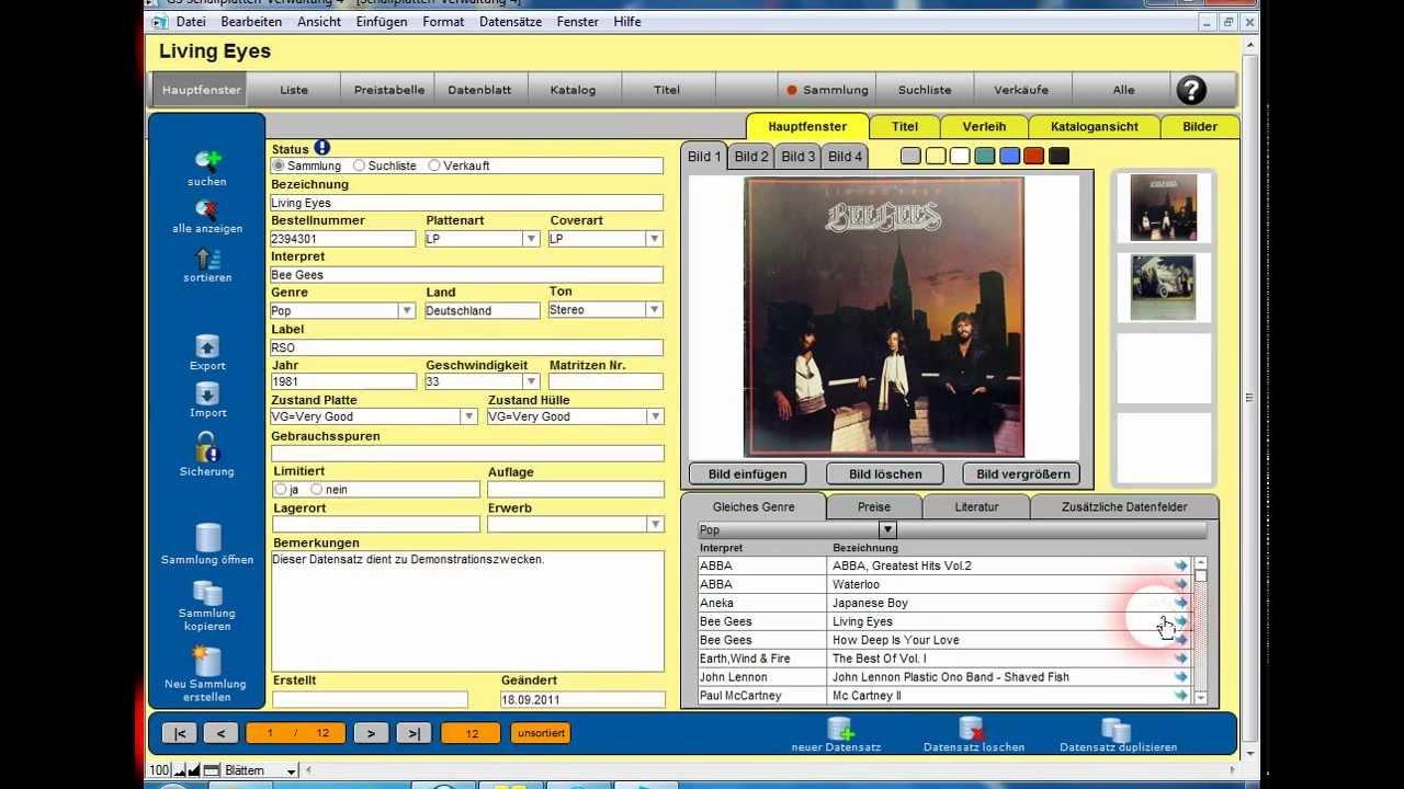 GS Schallplatten Verwaltung Download