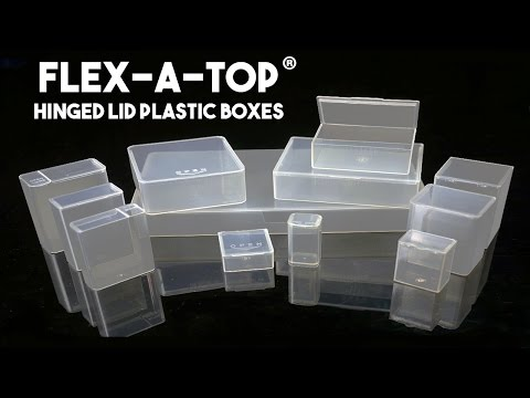 flex-a-top®:-hinged-lid-plastic-boxes