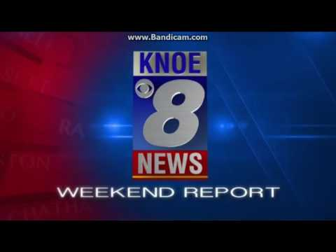 NEDIO 2016: Day 29: KNOE 8 News Weekend Report at 10pm open October 29, 2016