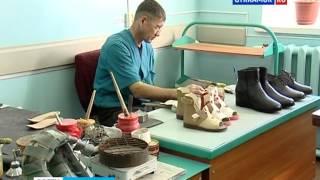 видео мужская ортопедическая обувь