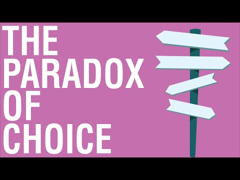 THE PARADOX OF CHOICE BY BARRY SCHWARTZ - ANIMATED BOOK SUMMARY