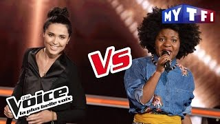 Shaby VS Camille Esteban - « Cheap Thrills » (Sia) | The Voice France 2017 | Battle