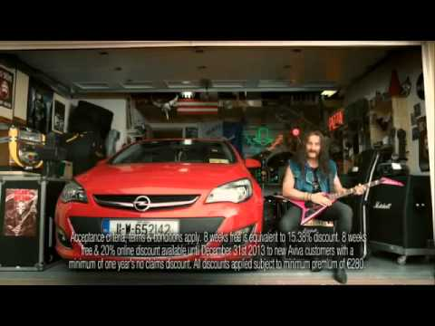 Aviva Car Insurance TV Ad    Metal Mossy