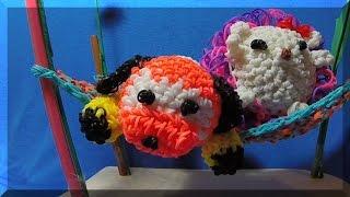 Rainbow Loom мои новые фигурки. Обзор