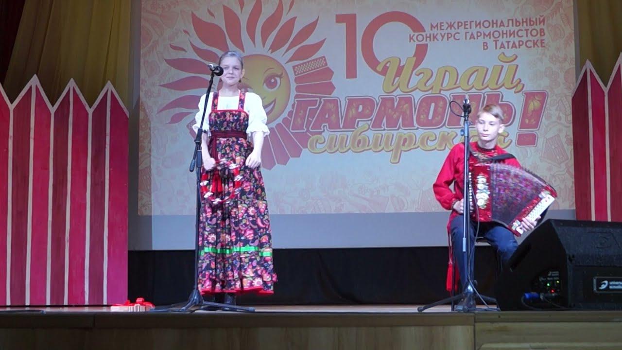"Динара Вдовина, аккомпанемент Артём Леонов - ""Калинка"""