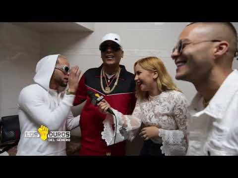 """Por primera vez juntos en una entrevista la tripleta de """"Te Boté"""" Nio Garcia, Darell y Casper..."""