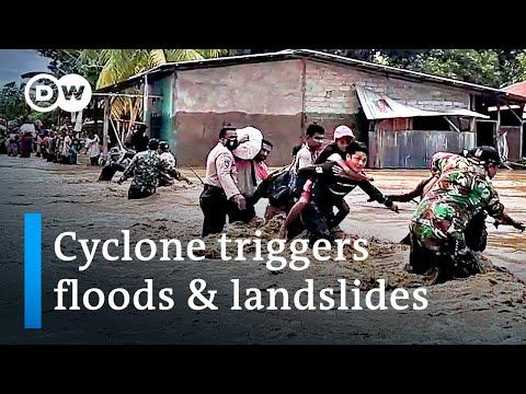 Floods & landslides in Indonesia & East Timor leave scores dead | DW News