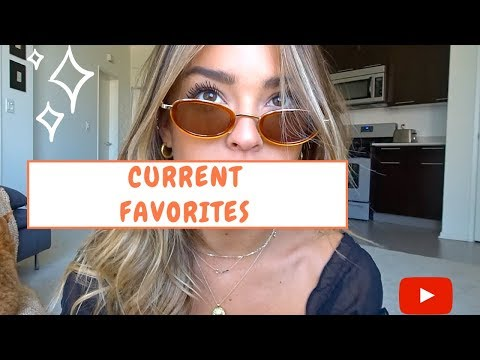 CURRENT FAVORITES: Skincare, Makeup, & More! thumbnail
