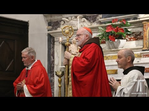 Cardinal O'Malley OFMCap omelia 2017.09.14.