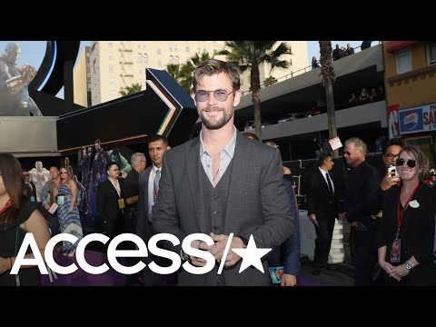 Chris Hemsworth Slays A Lip-Sync Of 'Wrecking Ball' | Access