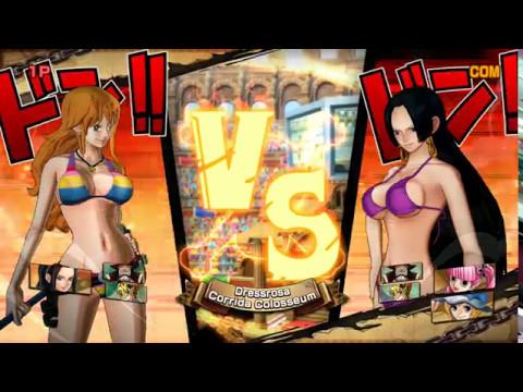 Trận Chiến Giữa Các Cô Gái Xinh Đẹp - One Piece Song Đấu