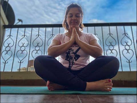 surya namaskar for beginnersweight lossin english  youtube