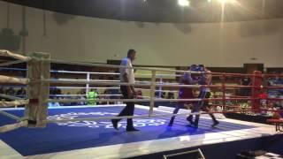 Violant Sylejmani vs Croatian Boxer Round1-2 2015