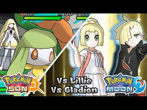 PokéWormhole Battle Challenge 3: Lillie & Gladion (Game Edited)