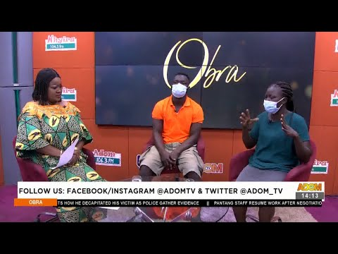 Woman h!ts husband with stick for not taking care of her and child - Obra on Adom TV (8-7-21)
