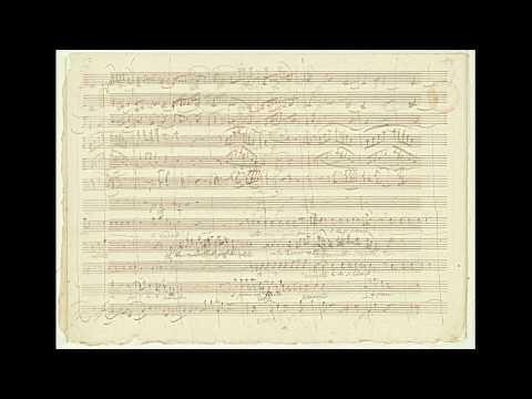 """Mozart: """"Don Giovanni"""" - 'Non Ti Fidar, O Misera' (autograph Manuscript) HD 1080p"""