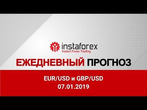 EUR/USD и GBP/USD: прогноз на 07.01.2019 от Максима Магдалинина
