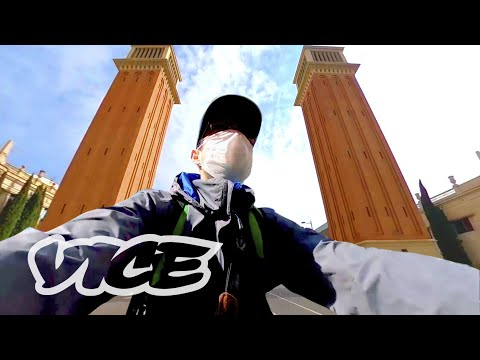 Barcelona, ciudad fantasma