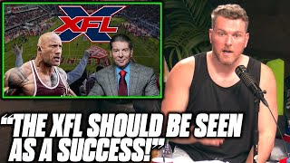Pat McAfee Says The XFL Should Be Seen As A Success