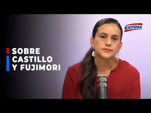 """🔴🔵Verónika Mendoza: """"Si tengo dudas sobre Pedro Castillo, de Keiko Fujimori tengo certezas"""""""