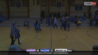 Todd County Falcons vs Bennett County Warriors (Boys 7A)