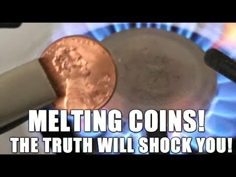 Can You Melt Down U.S. Coins? YES!? The Shocking Truth!