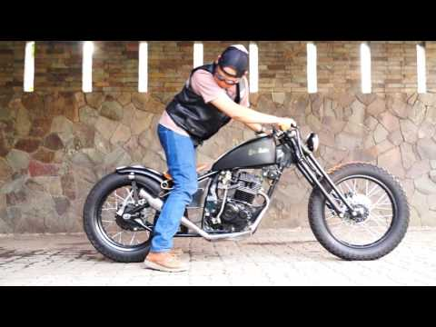 Bobber Custom Honda Mega Pro by Crumble Machine