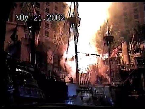 Treasure Island Buccaneer Bay Pirate Show 2002