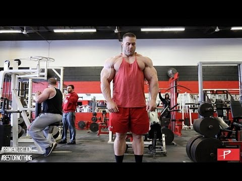 Road to the Arnold: Evan Centopani Trains Arms, Shoulders and Calves