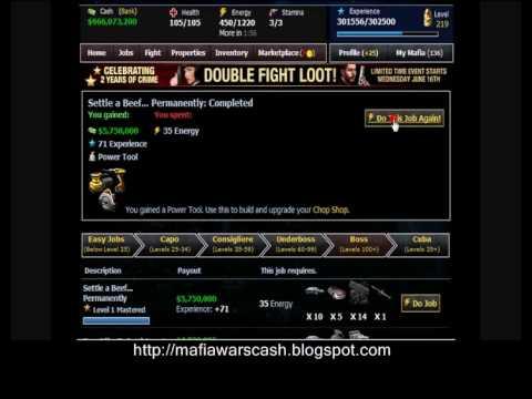 Mafia Wars Zynga - Facebook Godfather Domination