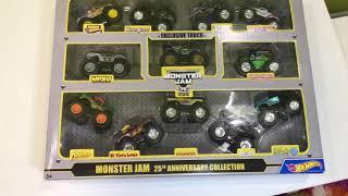 Монстр траки Hot Wheels.Коллекция игрушечных монстер траков.